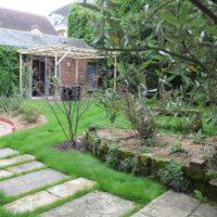 jardin ville dallage